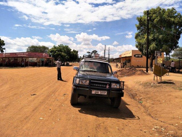rest stop Buliisa